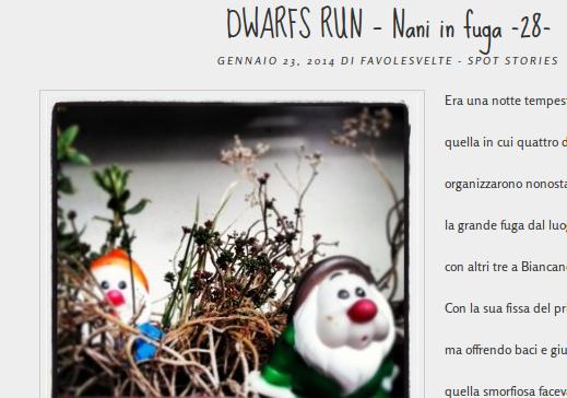 dwarfs run, una favola